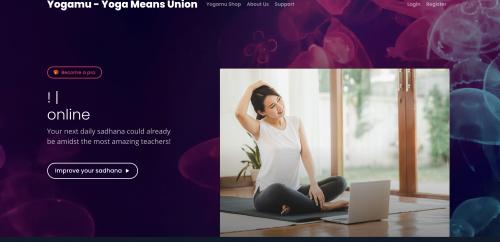 Screenshot of Yogamu Campus
